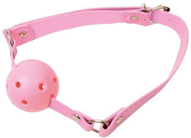 激感 口枷(ボールタイプ)ピンク