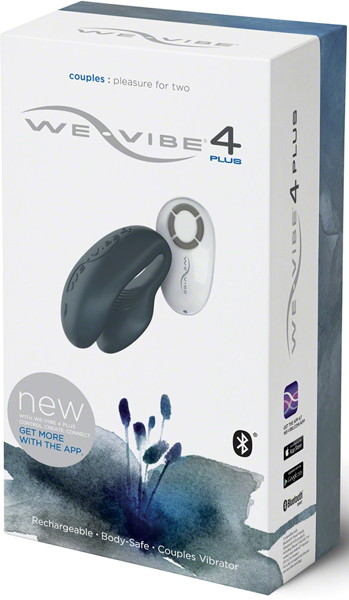 We-Vibe4 Plus slate glay