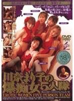 「川奈まり子の激痴女5人隊」のパッケージ画像