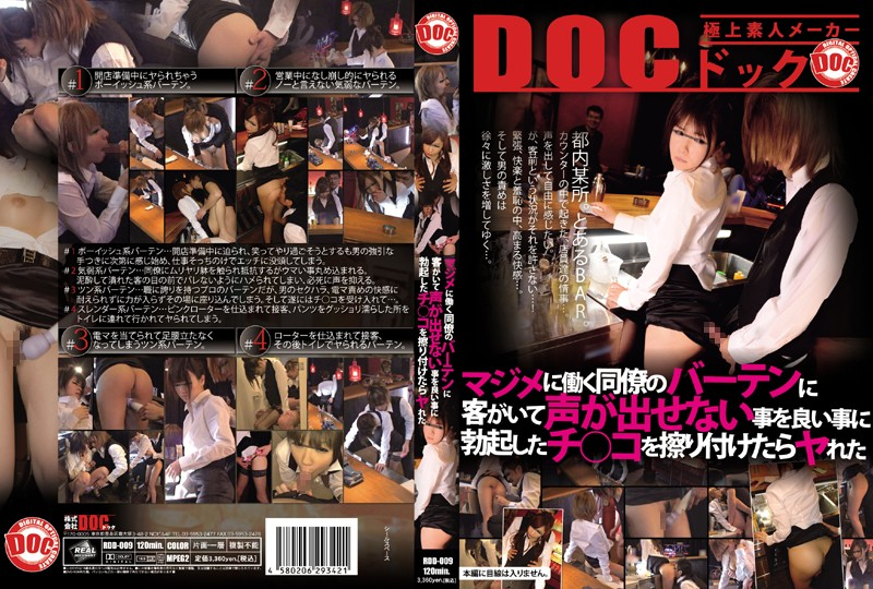 118rdd009pl RDD 009 Sex At Work The Counter Bartender