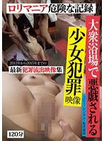 「大衆浴場で悪戯される少女犯罪映像」のパッケージ画像