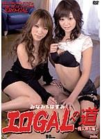 「エロGALへの道 〜痴女修行編〜 みなみ&はすみ」のパッケージ画像