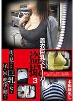 「着衣巨乳ストーカー盗撮 3」のパッケージ画像