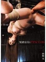 「緊縛宙吊りアナルフィスト 朝桐光」のパッケージ画像