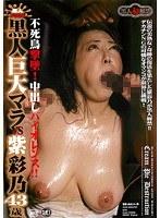 「黒人巨大マラ VS 紫彩乃 不死鳥撃墜!中出しバイオレンス」のパッケージ画像
