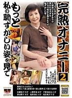 「完熟オナニー 2 もっと私の恥ずかしい姿を見て」のパッケージ画像