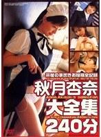 「秋月杏奈大全集 240分」のパッケージ画像