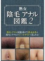 「熟女陰毛アナル図鑑2」のパッケージ画像