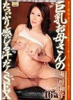 「巨乳お母さんのたっぷり感じる汗だくSEX 庵叶和子」のパッケージ画像