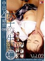 「中出し4時間 女子校生編 Vol.02」のパッケージ画像