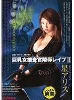 「巨乳女捜査官陵辱レイプ2 星アリス」のパッケージ画像