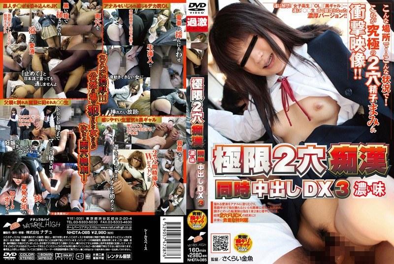 1nhdta085pl NHDTA 085 Chikan Molester Rape Double Penetration Creampie DX 3