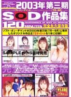 「2003年第三期(7月~9月)SOD作品集」のパッケージ画像
