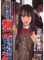 「女子校生痴漢凌辱暴行レイプ2 菅野亜梨沙」のパッケージ画像