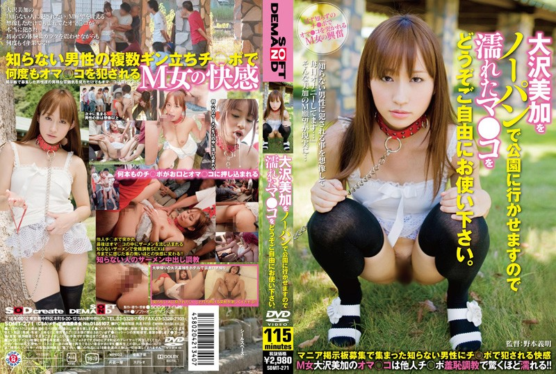 [SDMT 271] Mika Osawa   Please Use My Pussy In The Park (510MB MKV x264)