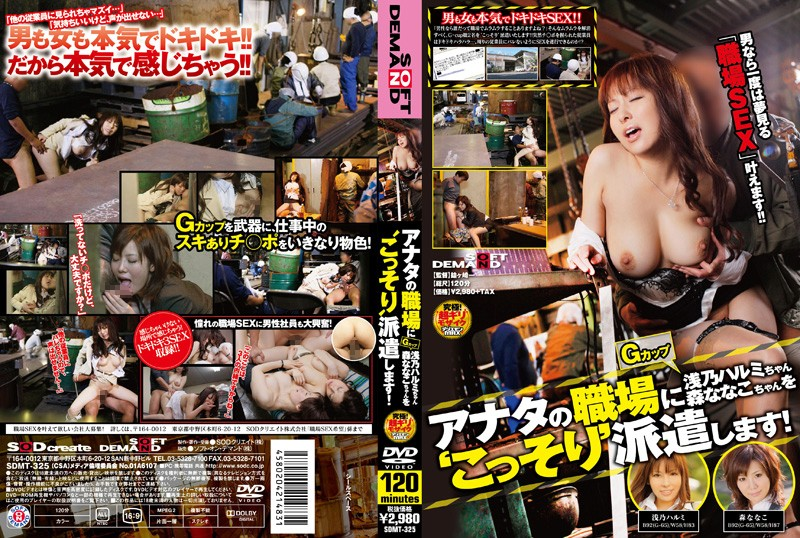 1sdmt325pl SDMT 325 Harumi Asano & Nanako Mori   G Cup Delivery Fuck In Workplace