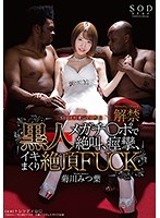 菊川みつ葉 黒人メガチ●ポで絶叫、痙攣、イキまくり絶頂FUCK STAR-859画像