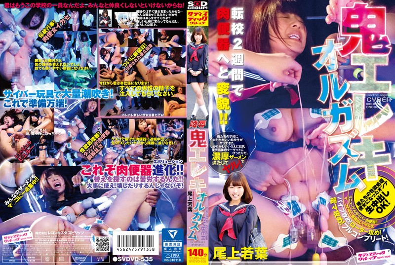 1svdvd535pl SVDVD 535 Wakaba Onoue   Fierce Electric Orgasms