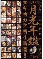 「月光年鑑 ヌキ所カケ所4時間!!」のパッケージ画像