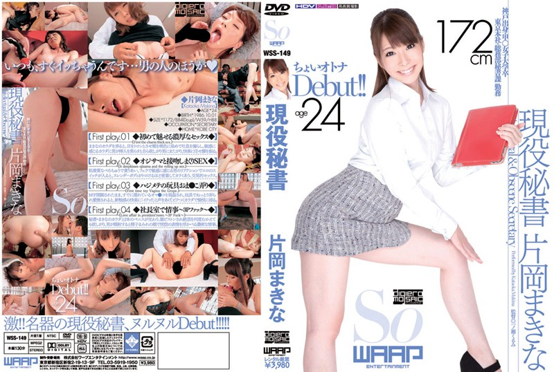 2wss149pl WSS 149 Makina Kataoka   Real Secretary AV Debut