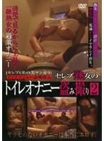 「セレブ熟女のトイレオナニー盗み撮り2」のパッケージ画像