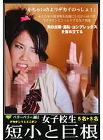 「ベリーベリー通信 女子校生デカチンVSミニチン 短小と巨根」のパッケージ画像