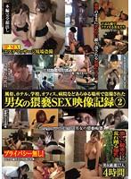 「風俗、ホテル、学校、オフィス、病院などあらゆる場所で盗撮された男女の猥褻SEX映像記録 2」のパッケージ画像
