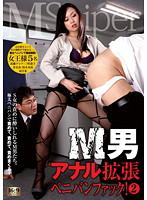 「M男アナル拡張ペニバンファック! 2」のパッケージ画像