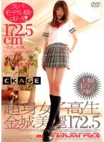 「超身女子校生 金城美麗 172.5」のパッケージ画像