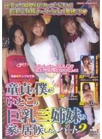 「童貞の僕がいとこの巨乳三姉妹の家に居候した。 パート2」のパッケージ画像