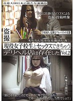 「盗撮 現役女子校生とセックスできちゃうデリヘル店は存在した Vol.2」のパッケージ画像
