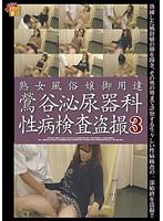 「熟女風俗嬢御用達 鶯谷泌尿器科性病検査盗撮3」のパッケージ画像