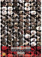 熟女恥態トイレ盗撮 4カメ3マルチアングル 総集編
