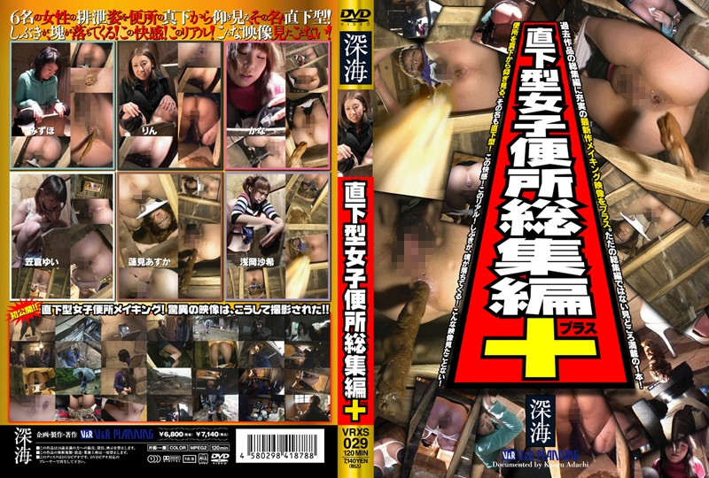 [VRXS 029] Right Under Ladies Toilet Compilation+ (485MB MKV x264)