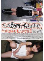 「たった2万円でヤッちゃいました。ウリをはじめた素人少女たち ひなの20さい」のパッケージ画像