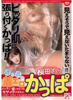 「透け透け 着エロかっぱ 桜田さくら」のパッケージ画像