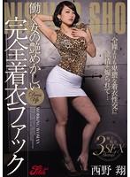 働く女の艶めかしい完全着衣ファック 西野翔