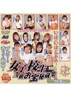 「女子校生 A級お宝秘蔵集」のパッケージ画像