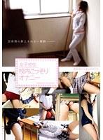 「女子校生 校内こっそりオナニー」のパッケージ画像