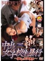 「中出し女子校生暴行 〜狙われた制服美女〜」のパッケージ画像