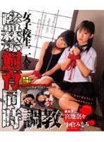 「女子校生二人を監禁飼育同時調教」のパッケージ画像