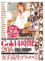「Gold4時間!20人の女子校生デラックス」のパッケージ画像