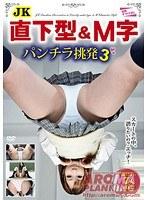 JK直下型&M字パンチラ挑発3