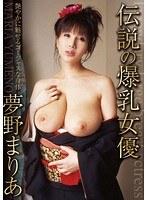 「伝説の爆乳女優 夢野まりあ」のパッケージ画像