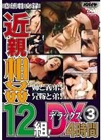 「近親相姦 12組! デラックス 3 4時間」のパッケージ画像