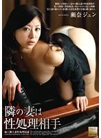 「隣の妻は性処理相手 瀬奈ジュン」のパッケージ画像