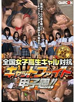 「全国女子校生ギャル対抗 キャットファイト甲子園!!」のパッケージ画像