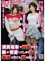 NHDTA-094 - Would Not Refuse A Woman Breast Big Tits In A Crowded Train Too Closely Also Been Groping 3