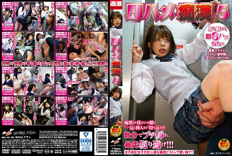 NHDTB-013 Immediately Fucked Molest 5 Shibuya Kaho