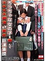 ちっちゃな女の子を囲んでネチネチ痴漢する卑劣巨漢集団 NHDTB-381画像